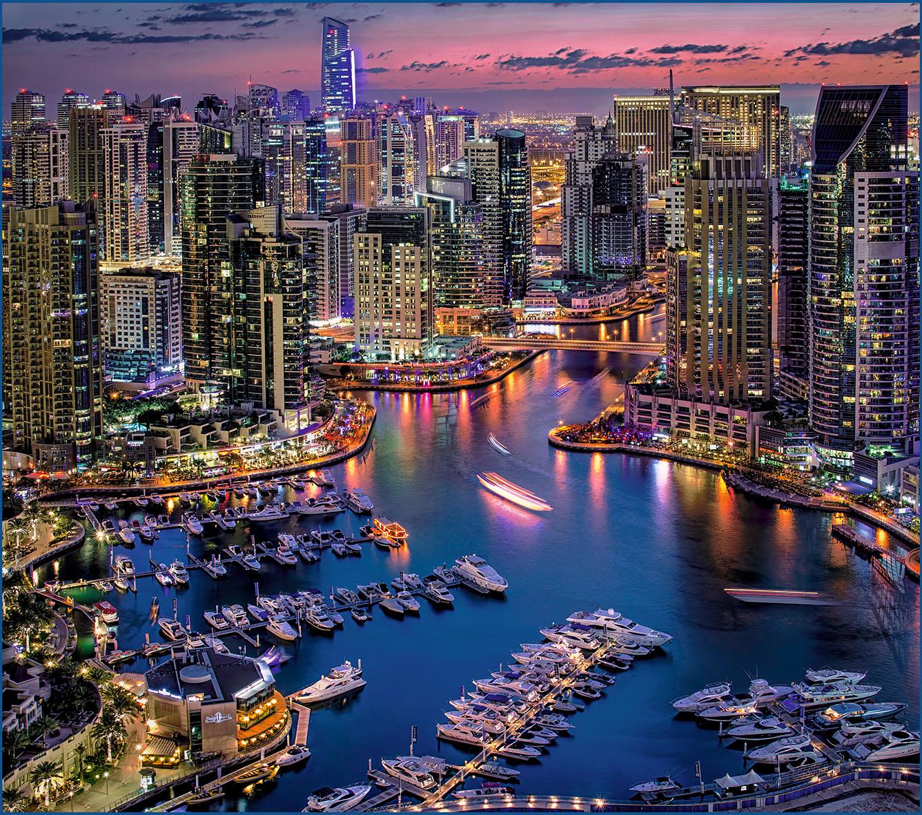 Дубай фотообои дубай порт