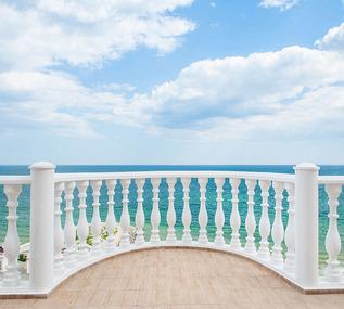 Фотопанно Divino Балкон с видом на океан (D-040) оптом
