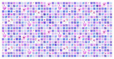 Декоративная панель ПВХ Виола оптом