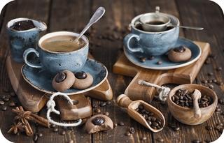Сервировочная салфетка ПВХ Кофе