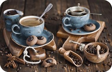 Сервировочная салфетка ПВХ Кофе оптом