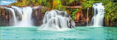 Фотообои 8 листов Водопады оптом