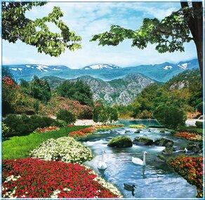 Фотообои 6 листов Кавказ оптом