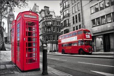 Фотообои 4 листа Лондон оптом