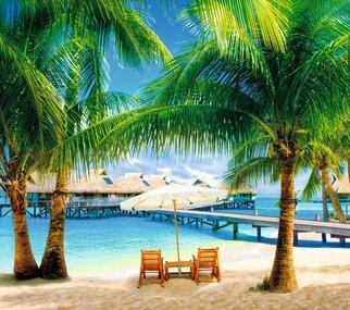 Фотообои Artdecor 15 листов Мальдивы оптом