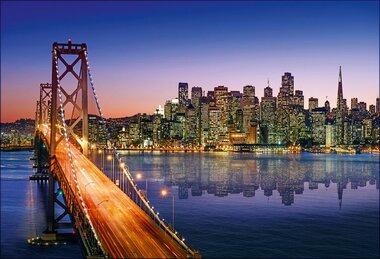 Фотообои 9 листов Мосты оптом