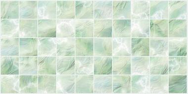 Декоративная панель ПВХ Перламутровая зеленая оптом