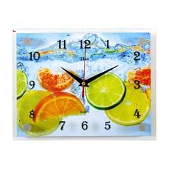 Часы настенные 2026-798 Цитрусы в воде
