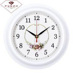 Венок из роз Часы настенные 2121-139