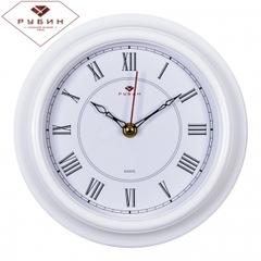 Часы настенные 2121-306W Классика с римскими цифрами