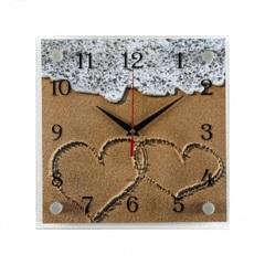 Часы настенные 2525-1008 Любовь на море