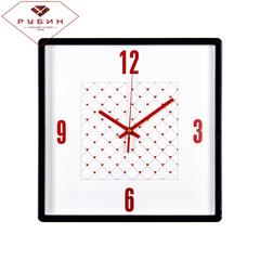 Часы настенные 3028-124В Сердечки