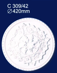 Розетка потолочная Солид 309C/42 оптом