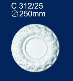 Розетка потолочная Солид 312C/25 оптом