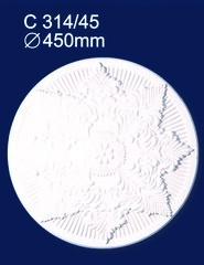 Розетка потолочная Солид 314C/45