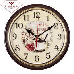 Часы настенные 3527-128GBr De Cafe
