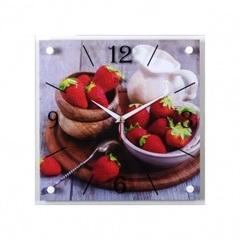 Часы настенные 3535-112 Клубничное счастье
