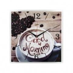 Часы настенные 3535-265 Доброе утро