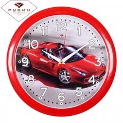 Часы настенные 6026-221Спорткар