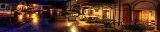 Фартук кухонный 745 (Ночной город)