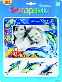 "Фоторамка ""RoomDecor"" FRA 1502 Дельфин оптом"