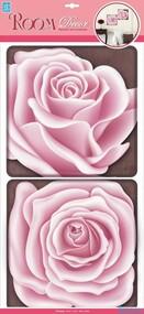 """Наклейка декор """"RoomDecor"""" POA 0401Чайная роза оптом"""