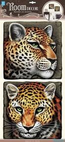 """Наклейка декор """"RoomDecor"""" POA 9506 Леопард оптом"""