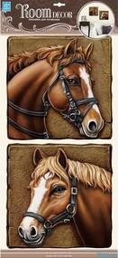 """Наклейка декор """"RoomDecor"""" POA 9510 Лошади оптом"""