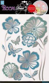 """Наклейка декор """"RoomDecor"""" RCA 7701 Луговые цветы 1 оптом"""