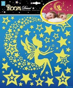 """Наклейка декор """"RoomDecor"""" REA 2001 Звездная фея оптом"""