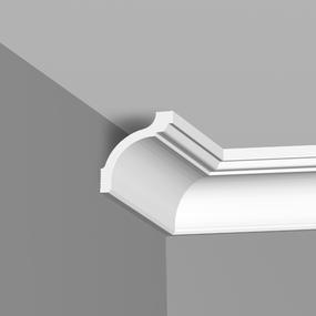 Плинтус потолочный Плинтэкс S 85/90 оптом
