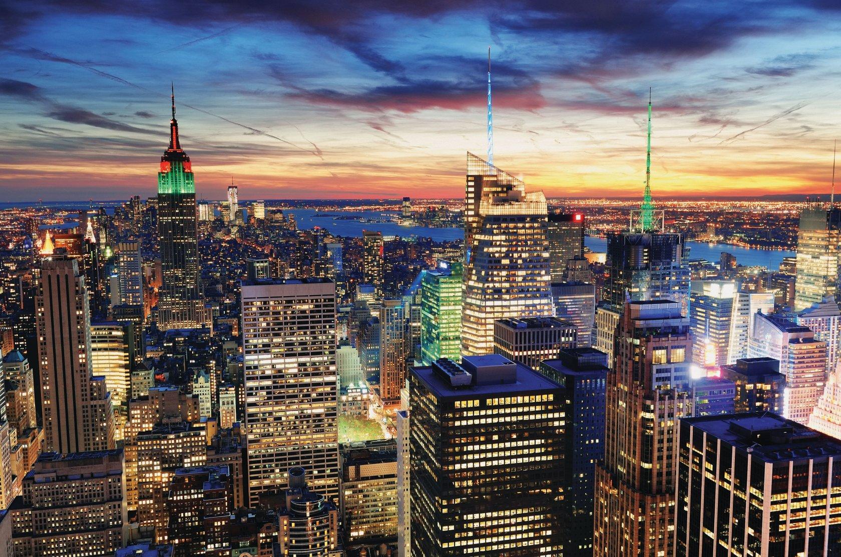 Обои на рабочий стол панорама города могут выбрать